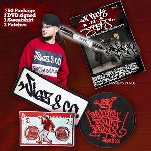 $50 Sweatshirt & DVD Holiday Package