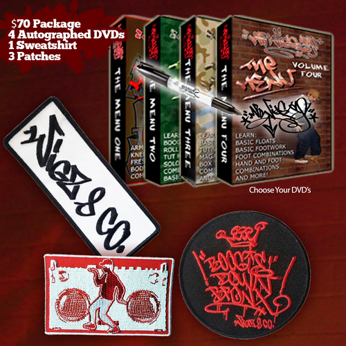 $70 Autographed DVD Holiday Package