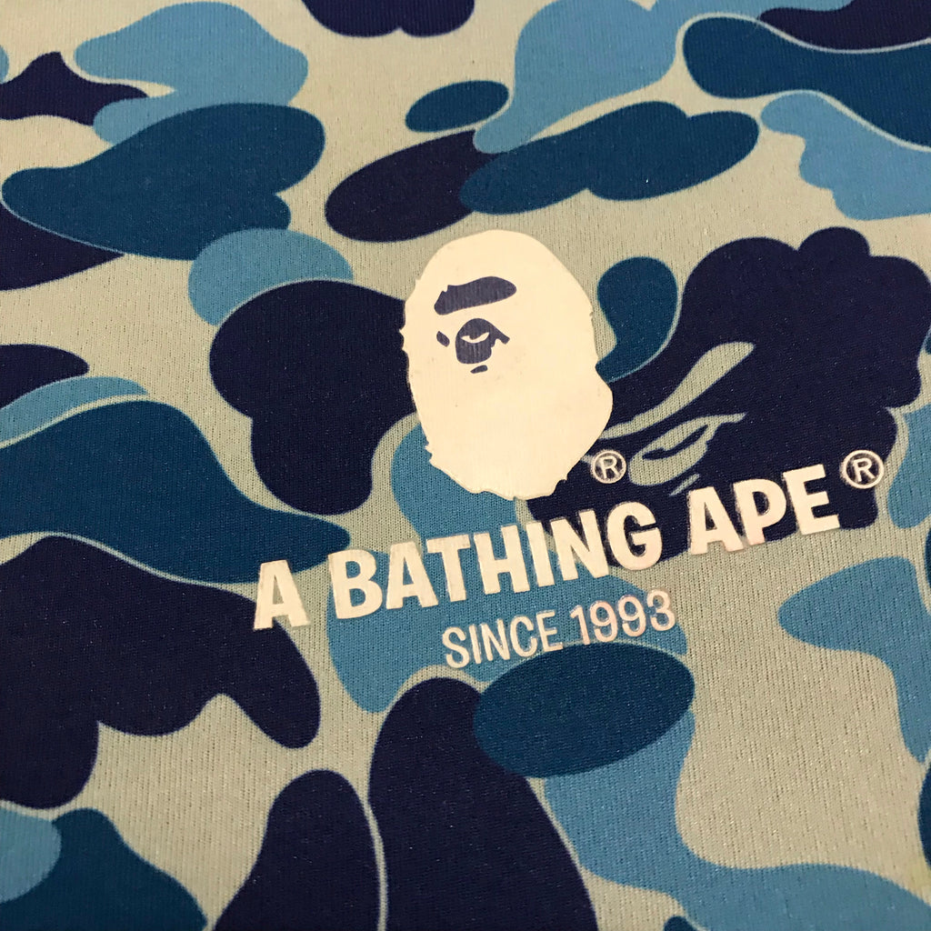 "A BATHING APE Blue ABC Camo 13"" Laptop Case"