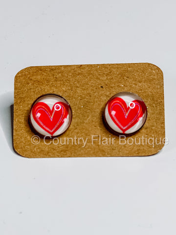 Be Mine Stud Earrings