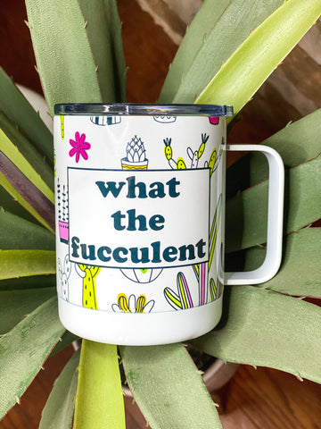 Fucculent Travel Mug