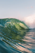A fine art print of a perfect wave