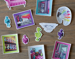 Pastel Renaissance Sticker Pack