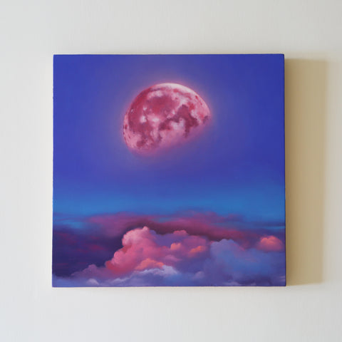Moonglow Original Oil Painting