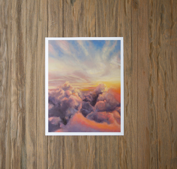 Moonstone Sunrise Fine Art Print