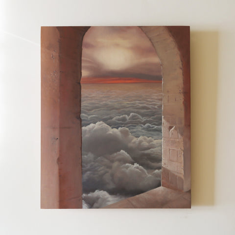 Pillow Skies Original Oil Painting