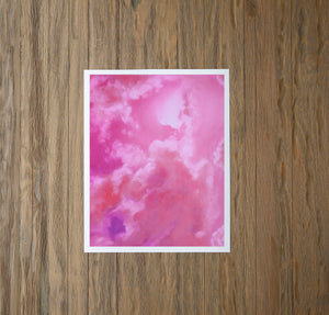 Rose Quartz Skies Fine Art Print