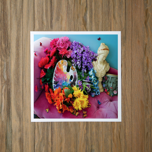 Rainbow Studio Photo Print