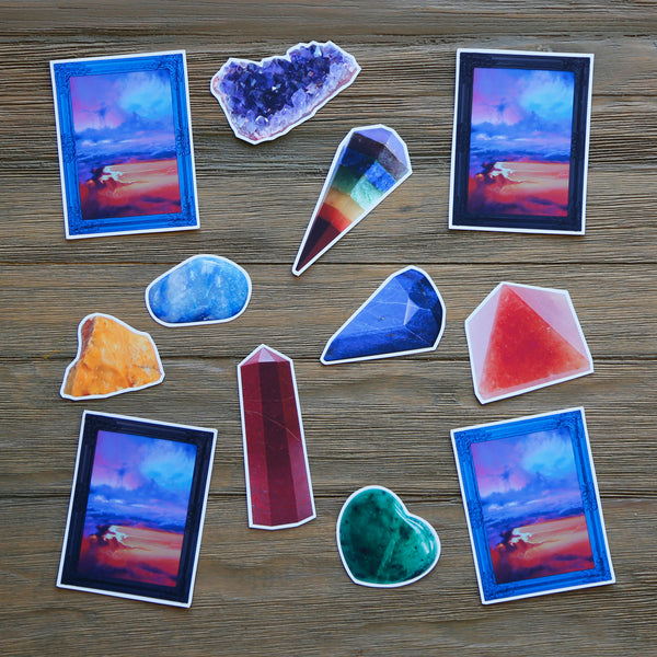 Seven Chakras Sticker Pack
