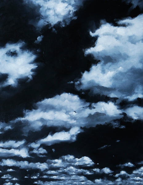 Black Tourmaline Skies Fine Art Print