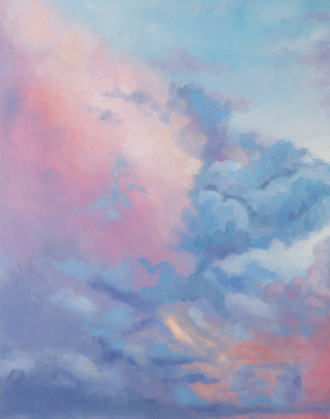 Angelite Skies Fine Art Print