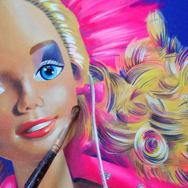 Barbie and the Rockers Fine Art Print