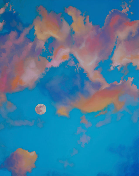 Cotton Candy Moon Fine Art Print
