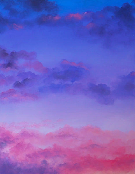 Crystals and Cloudscapes Gift Set - Amethyst Skies
