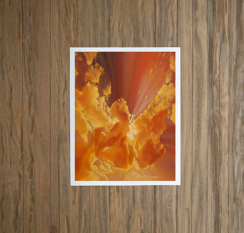 Citrine Sunrise Fine Art Print