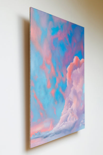 Cotton Candy Dream Original Oil Painting