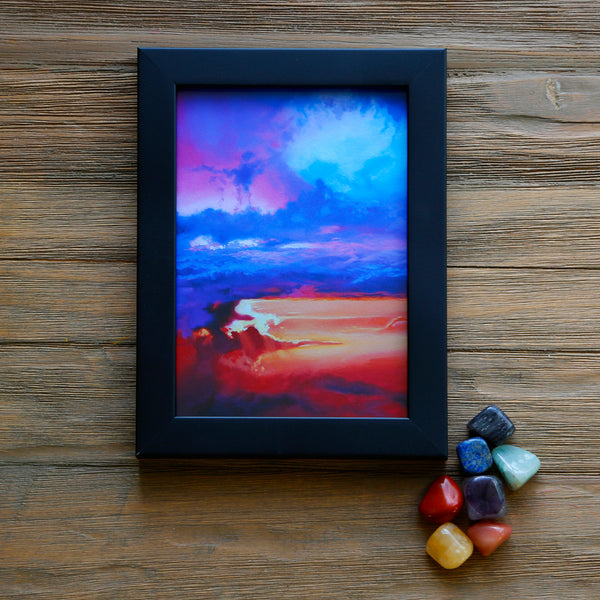 Crystals and Cloudscapes Gift Set - Chakra Skies