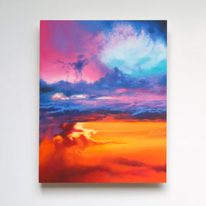 Chakra Skies Original Oil Painting