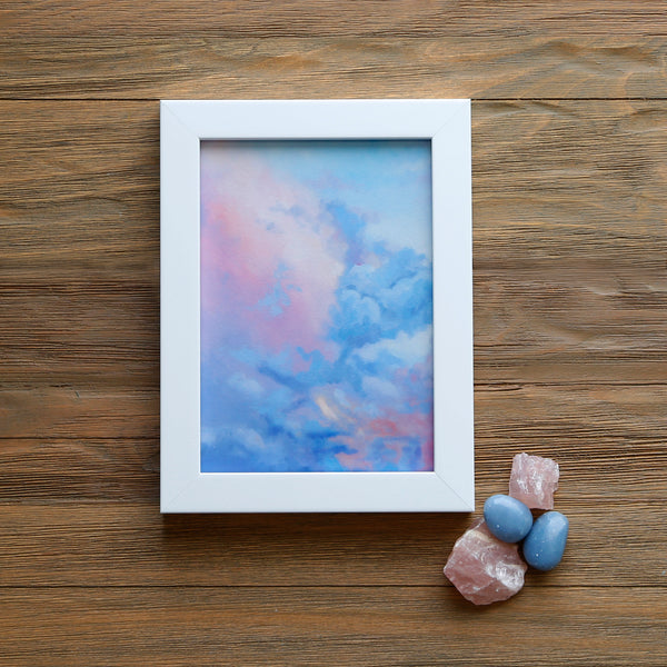 Crystals and Cloudscapes Gift Set - Angelite Skies