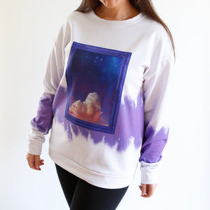 Amethyst Night Tie Dye Sweatshirt