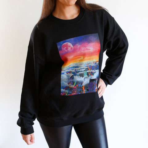 April Moon Unisex Sweatshirt