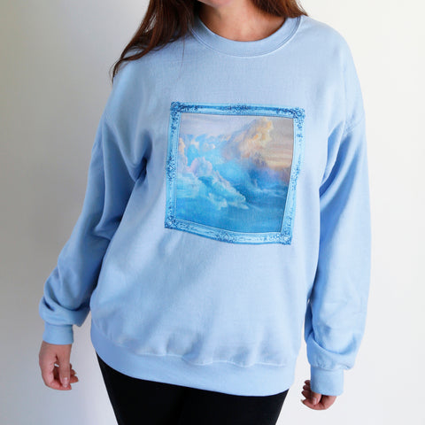 Blue Candy Skies Unisex Sweatshirt