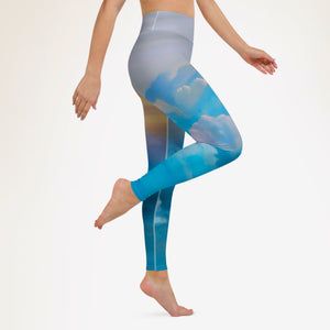 Blue Candy Skies Leggings