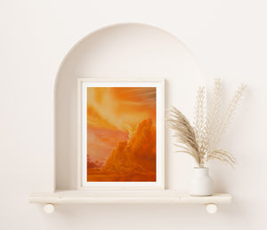 Citrine Summer Fine Art Print