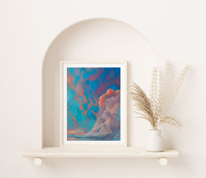Cotton Candy Dream Fine Art Print