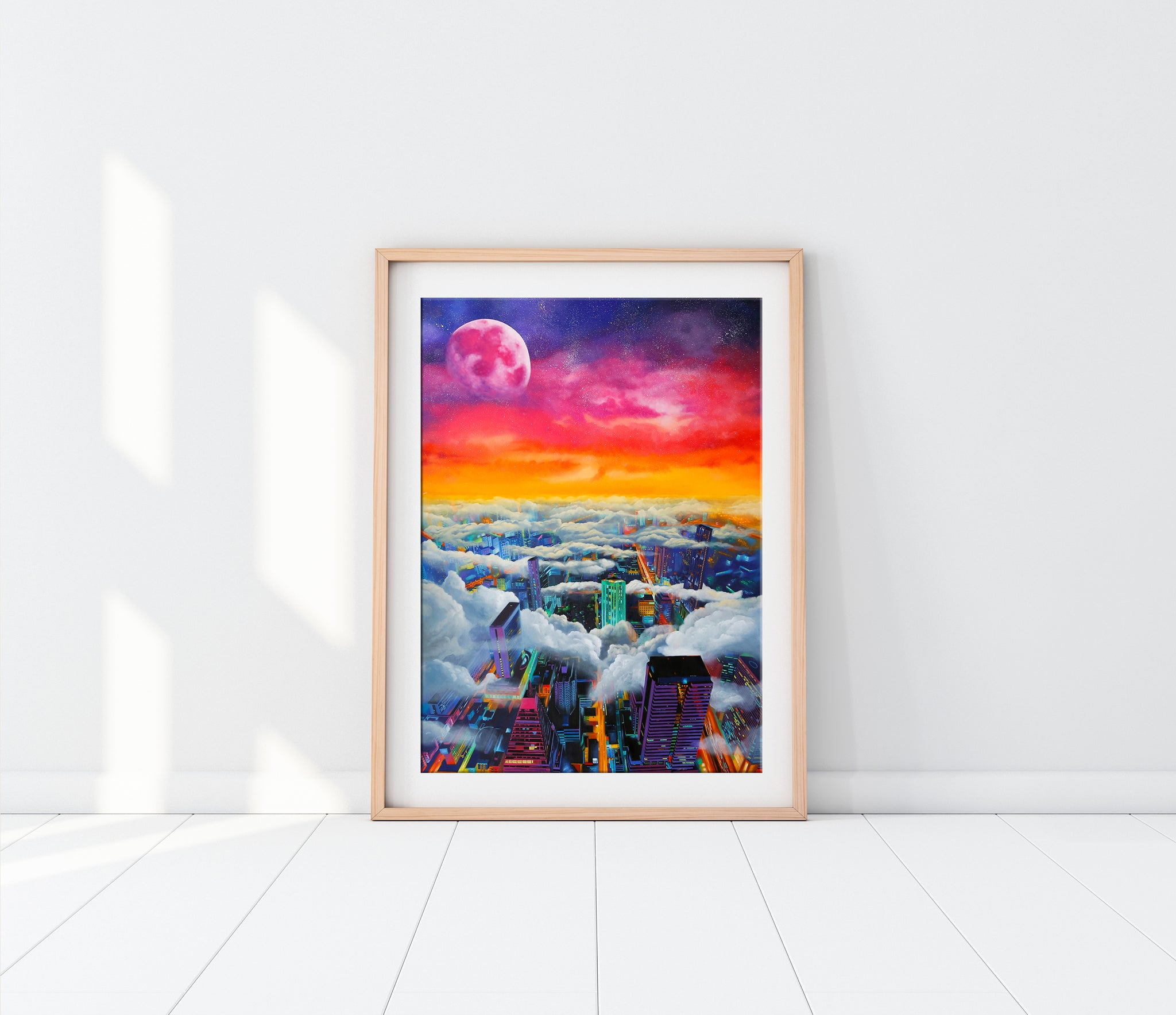 April Moon Limited Edition Fine Art Print