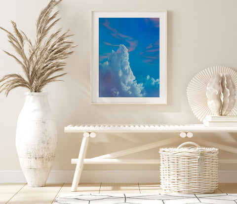 Cotton Candy Afternoon Fine Art Print