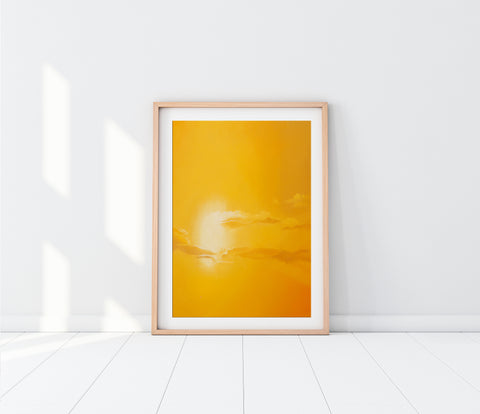 Citrine Sunset Fine Art Print