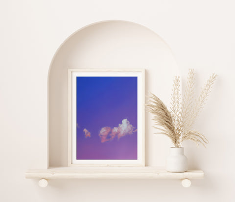Amethyst Air Fine Art Print