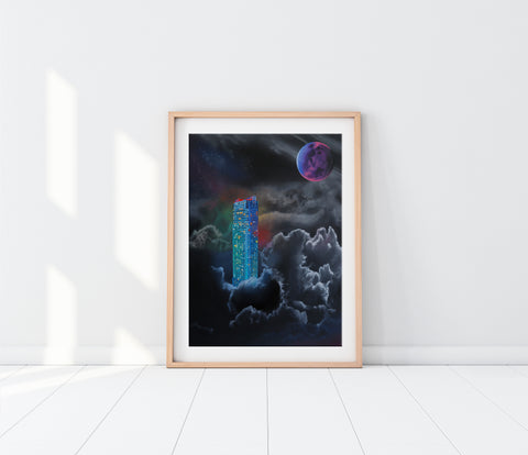 October Moon Limited Edition Fine Art Print