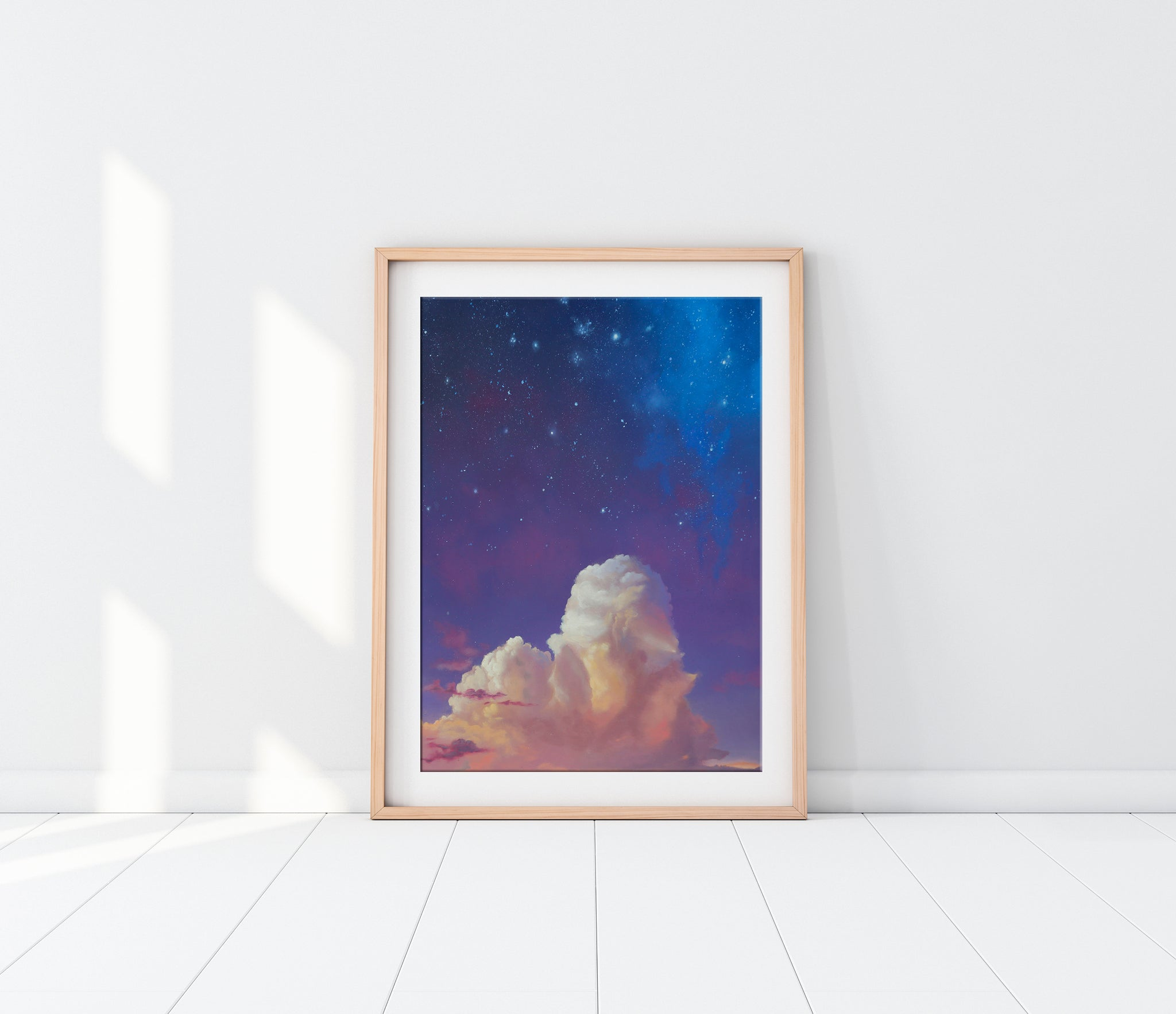 Amethyst Night Fine Art Print