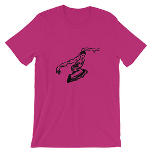 UNISEX Short-Sleeve T-Shirt. Fly 1.
