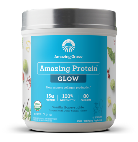 Amazing Protein Glow Vanilla Honeysuckle