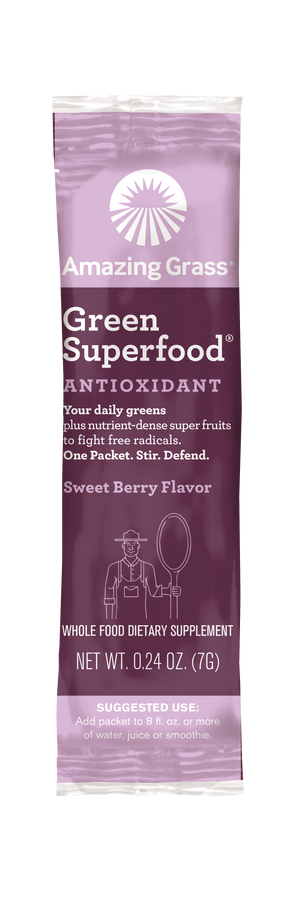 Green Superfood Anti-Oxidant Sweet Berry 30 Count Box