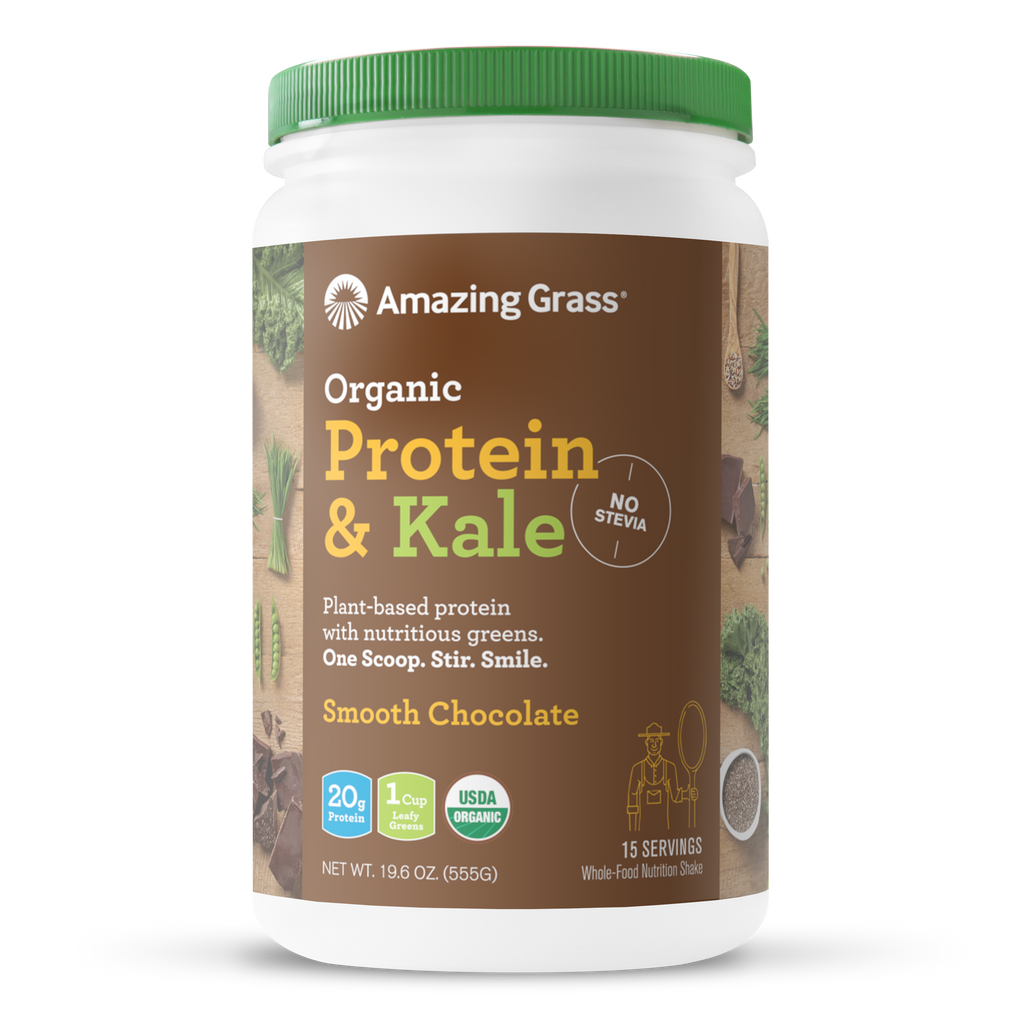 Buy Chocolate Organic Protein Powder By Amazing Grass