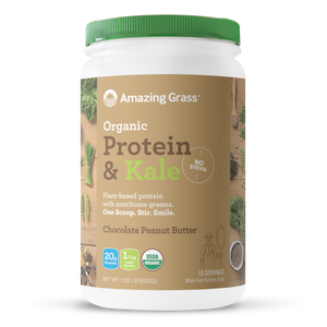 Buy Organic Chocolate Peanut Butter Protein Powder By Amazing Grass
