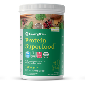 Buy Organic Green Protein Superfood Powder By Amazing Grass