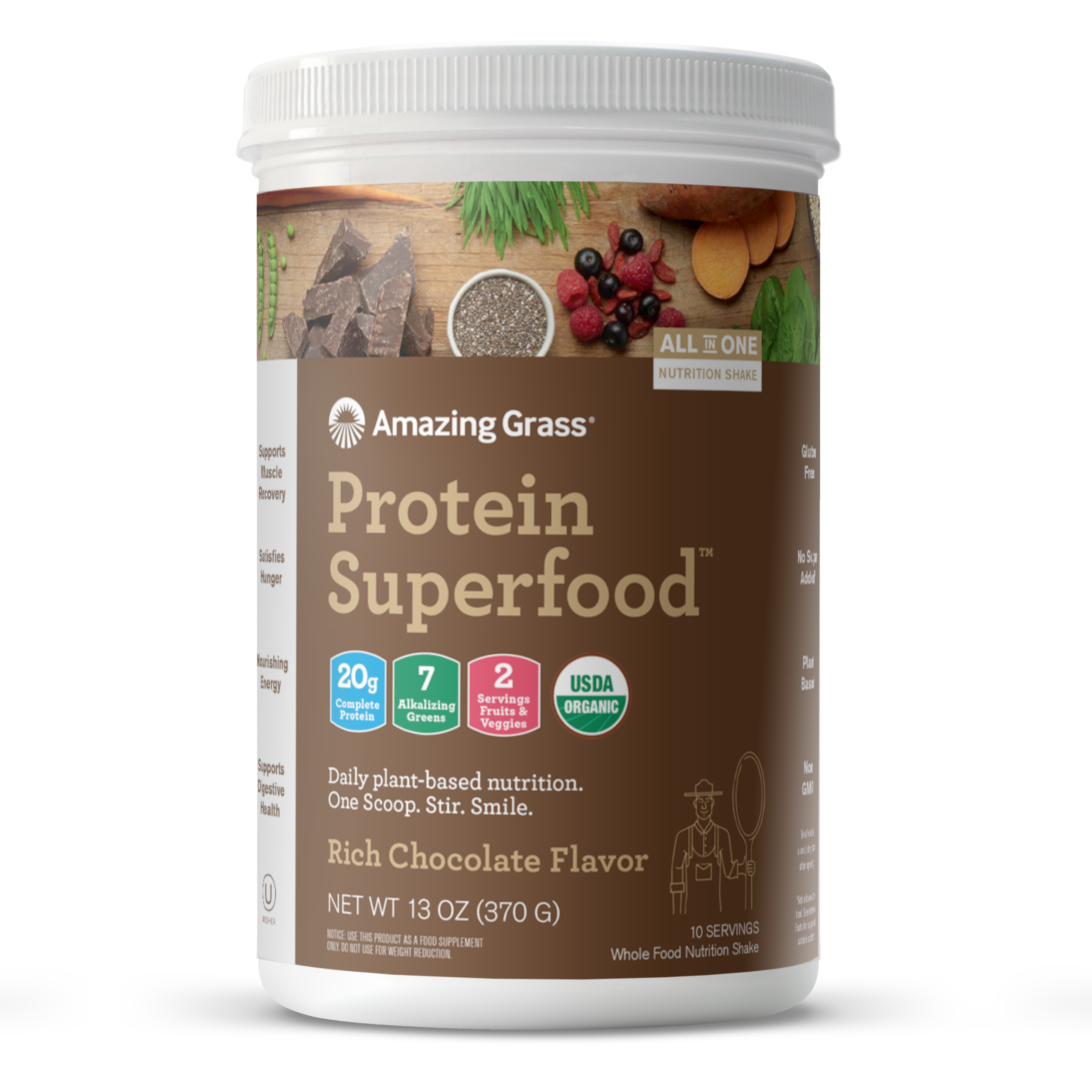 Buy Chocolate Protein Superfood Powder By Amazing Grass