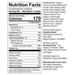 Organic Chocolate Peanut Butter Protein Powder Nutritional Info By Amazing Grass
