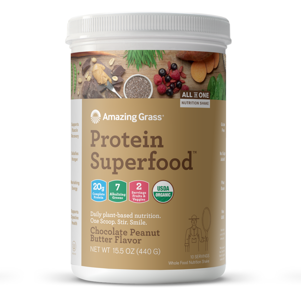 Protein Superfood Chocolate Peanut Butter