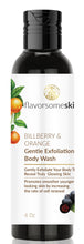 Load image into Gallery viewer, Bilberry and Orange Gentle Exfoliation Body Wash