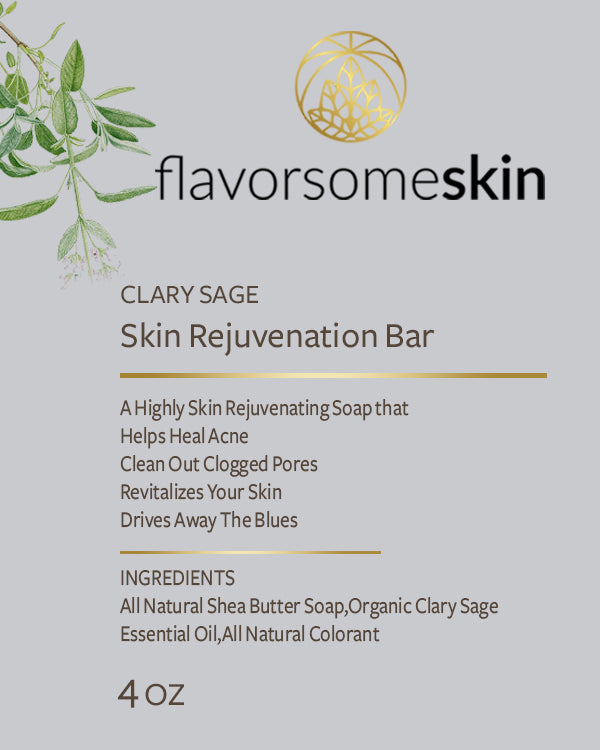Clary Sage Skin Rejuvenation Bar