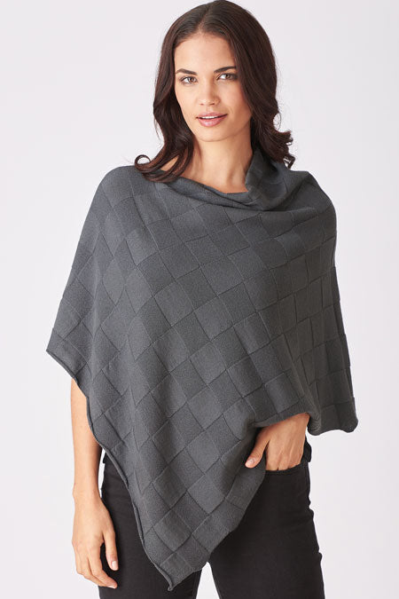 Checkerboard Poncho