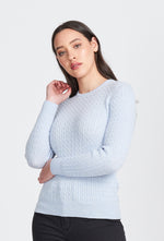 Royal Merino - Rib and Cable Crew