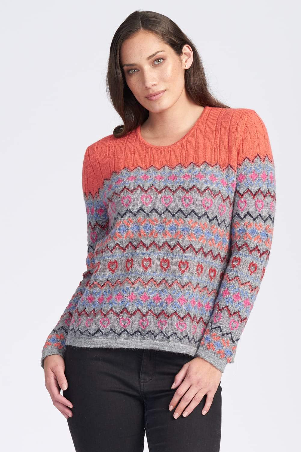 2535  Fairisle Jumper