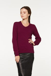 6181 V neck Jumper